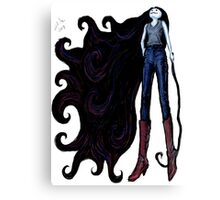 """Marceline in Jeans, 2014"" Canvas Print"