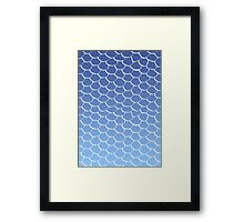 Blue Scales Framed Print