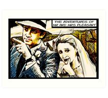 Mr and Mrs Pleasant, 2014 Art Print