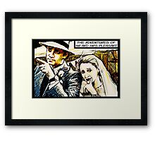 Mr and Mrs Pleasant, 2014 Framed Print