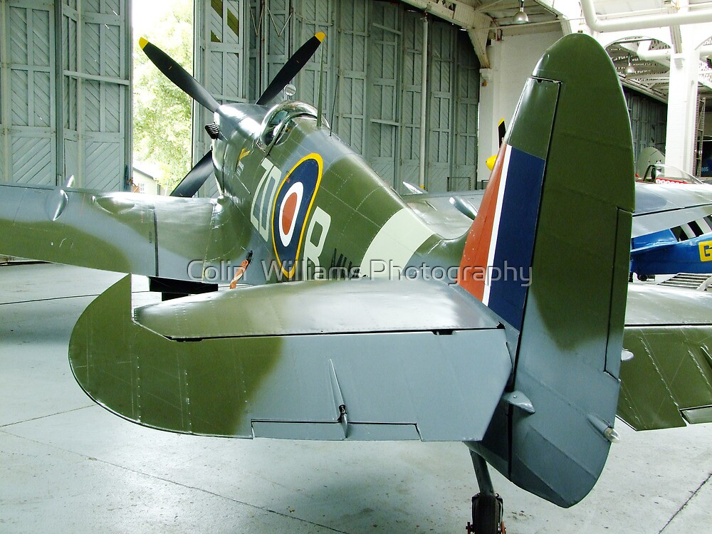 Spitfire Mk IX MH434 - Duxford by Colin  Williams Photography