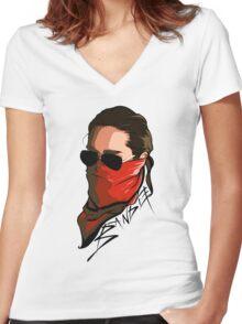 Bandit - TK Women's Fitted V-Neck T-Shirt