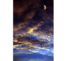 ~Thunder Moon~ Photographic Print