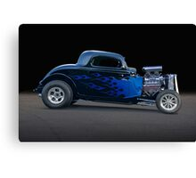 1934 Ford Coupe 'Profile of Terror' Canvas Print