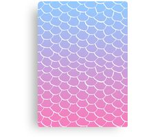 Cotton Candy Scales Canvas Print