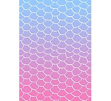 Cotton Candy Scales Photographic Print