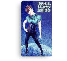 Miss Kitty Bliss, Supervillain, 2013 Metal Print