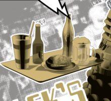 Dalek's Bar & Grill Sticker