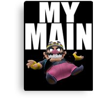 My Main - Wario Canvas Print