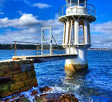 Robertson's Point Lighthouse - Sydney - Australia by Bryan Freeman