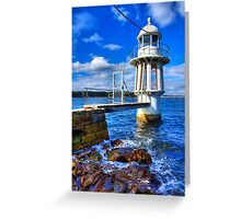 Robertson's Point Lighthouse - Sydney - Australia Greeting Card