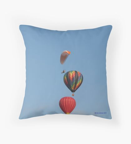 Those Daring Young Men and their Flying Machines! Throw Pillow