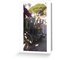 Sedum cart Greeting Card