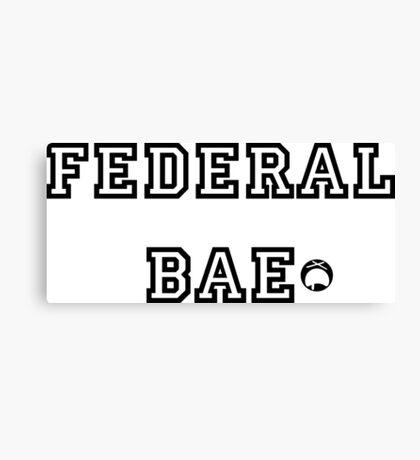 Federal Bae Canvas Print