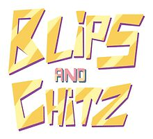Blips and Chitz I by coolshirts