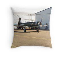 Nanchang Warbird Taxiing for Aerobatic Flight Throw Pillow