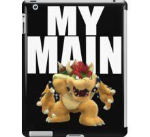 My Main - Bowser iPad Case/Skin