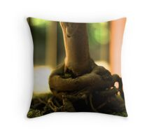 Bonsai Roots - Mt Coot-tha Botanic Gardens Throw Pillow