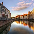 Postcard from Bruges, Belgium by Mike Olbinski