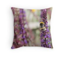 Bee!  Throw Pillow
