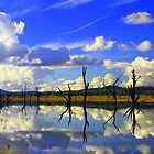 Lake Hume, NSW, Autralia. by Petehamilton