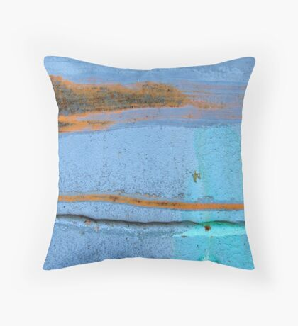 A Day at the Cape Throw Pillow