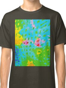 Abstract Watercolor Painting Classic T-Shirt