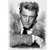 Kirk Douglas Actor by John Springfield Photographic Print
