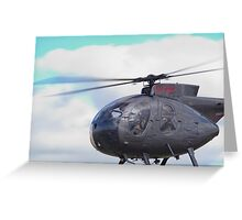 Eyefull of Helicopter Greeting Card