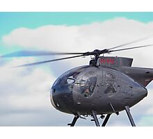 Eyefull of Helicopter Photographic Print