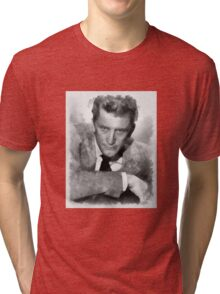 Kirk Douglas Actor by John Springfield Tri-blend T-Shirt