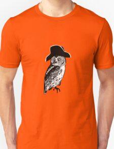 The Owl of Insanity Unisex T-Shirt