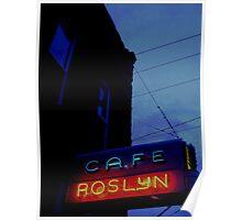 Cafe Roslyn Poster