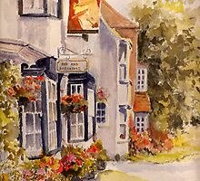 The new inn - Winchelsea by Beatrice Cloake Pasquier
