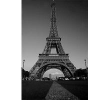 Madame Eiffel Photographic Print