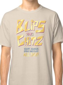 Blips and Chitz Il (text) Classic T-Shirt