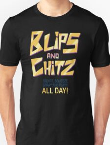 Blips and Chitz Il (text) T-Shirt