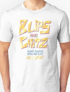 Blips and Chitz Il (text) Unisex T-Shirt