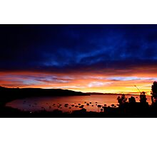 Copacabana on Lake Titicaca  Photographic Print