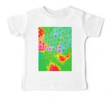 Colorful Abstract Watercolor Painting Background Baby Tee