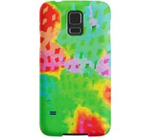 Colorful Abstract Watercolor Painting Background Samsung Galaxy Case/Skin