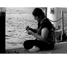 Gypsy woman with the Bait Photographic Print