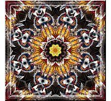 Native American Mandala 1 Photographic Print