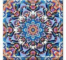 Native American Mandala 2 Photographic Print