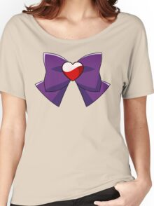 Super Sailor Mars Bow Women's Relaxed Fit T-Shirt