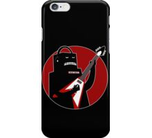 Badbot in Black and Red iPhone Case/Skin