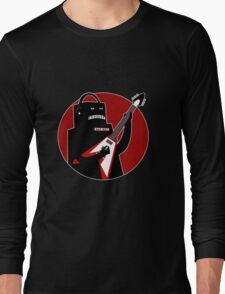 Badbot in Black and Red Long Sleeve T-Shirt