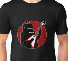 Badbot in Black and Red Unisex T-Shirt