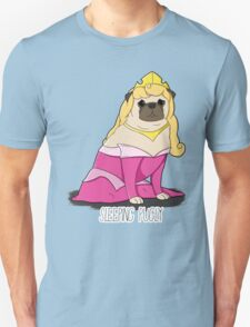 Sleeping Pugly Make it Pink! T-Shirt