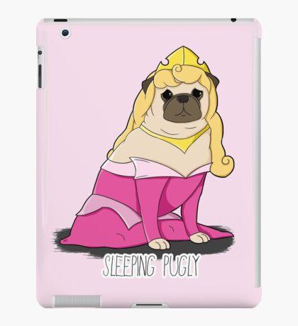 Sleeping Pugly Make it Pink! iPad Case/Skin